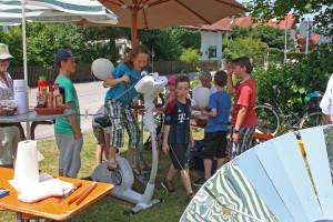 Bürgerfest 2015, Energie-Fahrrad